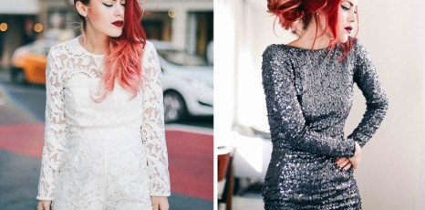 Sparkle & Lace | Two Party Looks