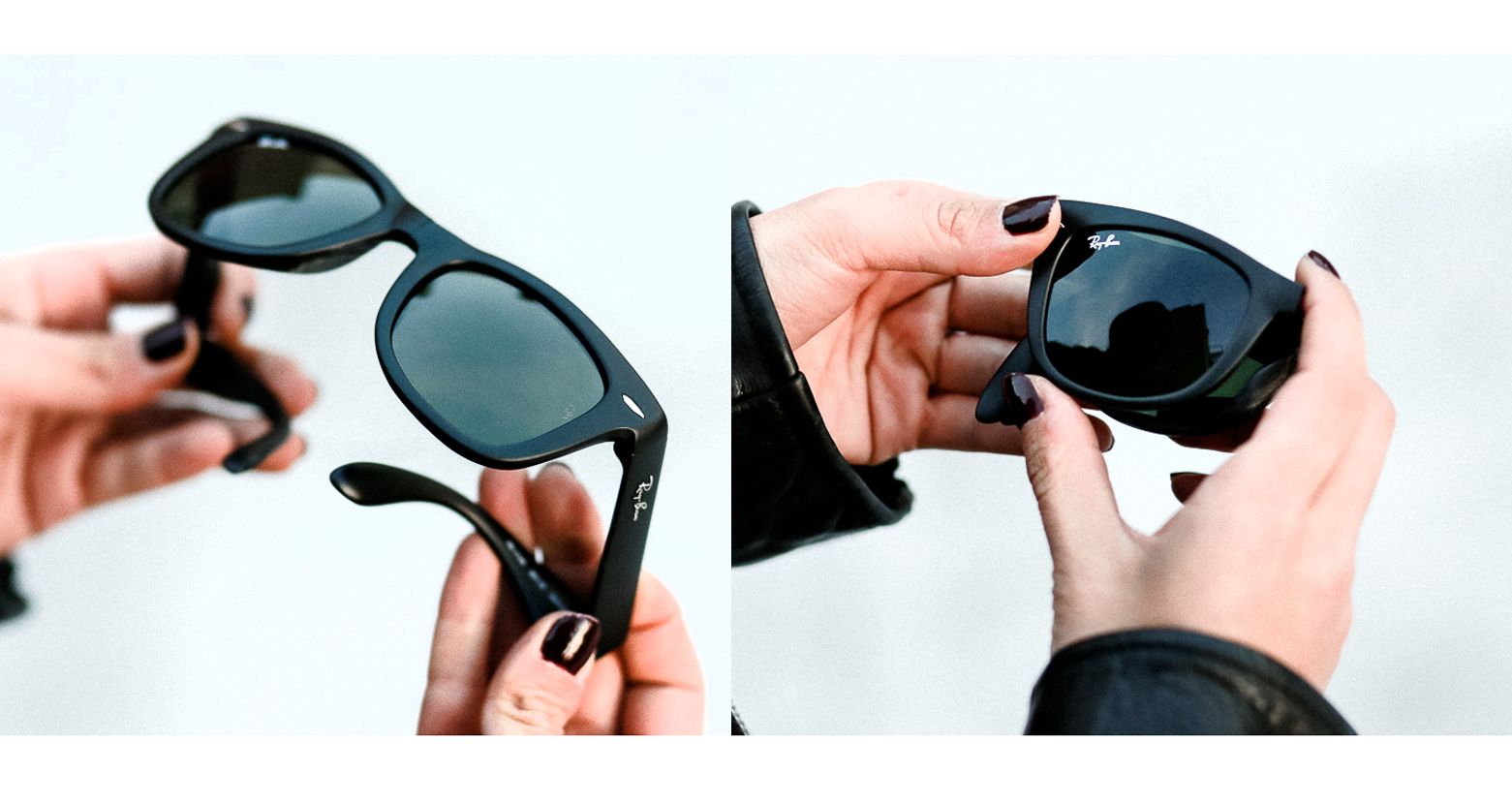 Ray Bans from sunglass hut