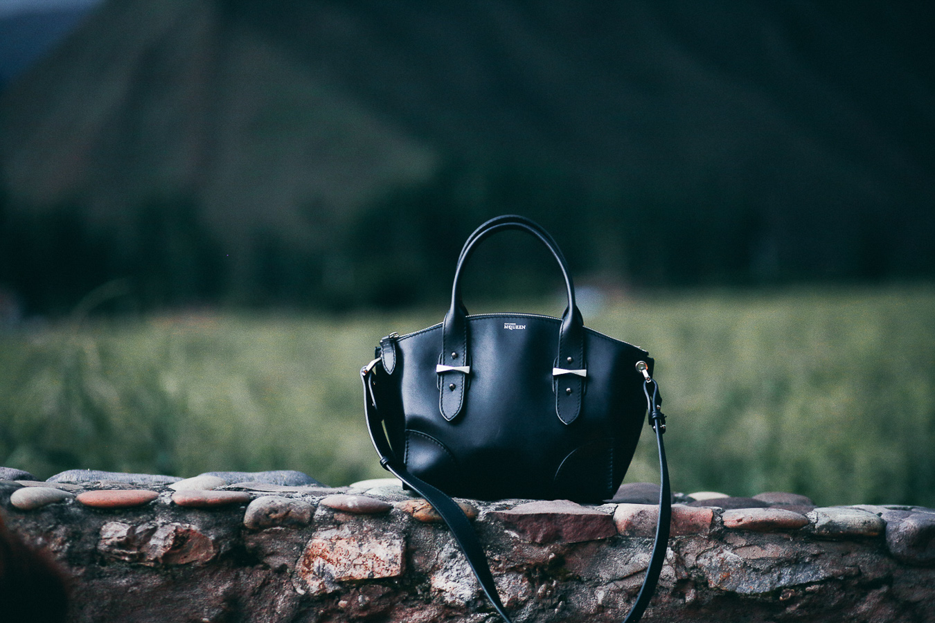 McQueen bag in Cusco