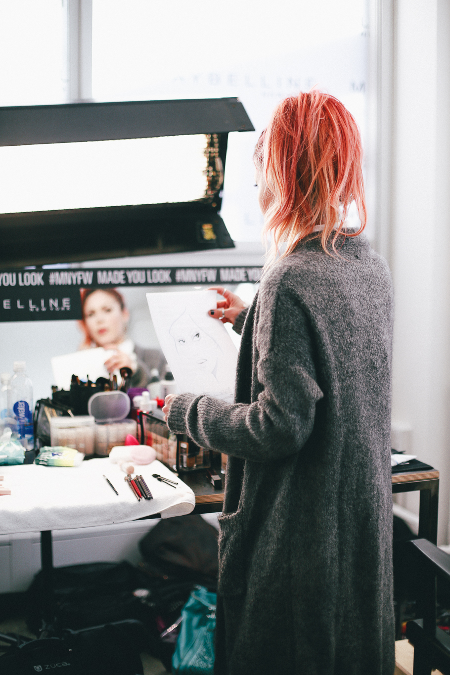 Le Happy does NYFW with Maybelline