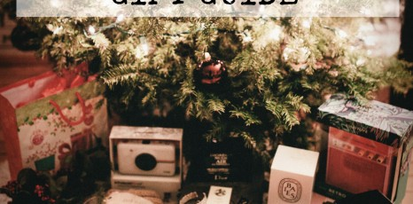 LAST MINUTE HOLIDAY GIFT GUIDE!